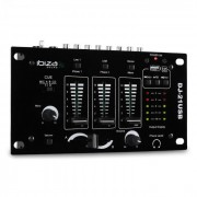 Ibiza DJ-21 2/3 канален USB DJ Mixer с Talkover Party (DJ21-USBMKII)