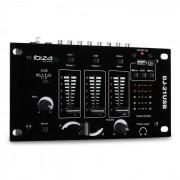 Ibiza DJ-21 2/3 канален USB DJ Mixer с Talkover Party (DJ21-USBMKII)
