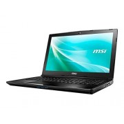 "MSI 9S7-16J622-047; CX62 6QD-047US Laptop 15.6"", Intel Core i5-6300HQ 2.3 GHz, 8 GB RAM, 1 TB HDD, Windows 10"