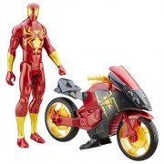 Spiderman Iron Spider With Repulsor Cycle - Ultimate Spider-Man Vs. The Sinister Six