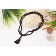 Black Agate/Hakkik 108 Beads Buddhist Prayer/Japa/Rosary/wearing/Fashion Wear Mala