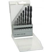 Bosch 10-delni set burgija za metal HSS-R, DIN 338 1; 2; 3; 4; 5; 6; 7; 8; 9; 10 mm - 1609200203