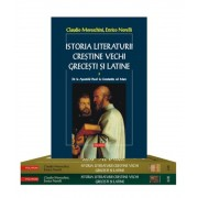 Istoria literaturii crestine vechi grecesti si latine (2 volume, 3 tomuri)