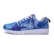 Camuflaje Zapatos Casuales Hombres TENIS ZAPATILLAS -Azul