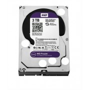 Disco 3.5 3TB WD Purple 64Mb SATA 6Gb/s - Video Vigilância