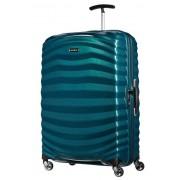 Samsonite Lite-Shock 75cm 4 Wheel Spinner Suitcase - Petrol Blue