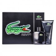 Eau De Lacoste L.12.12 Noir Coffret: Eau De Toilette Spray 100ml/3.3oz + Shower Gel 150ml/5oz 2pcs Eau De Lacoste L.12.12 Noir Комплект: Тоалетна Вода Спрей 100мл + Душ Гел 150мл