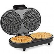Aparat de facut prajituri Waffle maker,2 felii, temperatura ajustabila Andrew James AJ001317