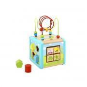Tooky Toy Didaktička kocka labirint