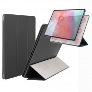 BASEUS Simplism Magnetic Attraction Tri-fold Stand Leather Case for iPad Pro 12.9 (2018) - Black