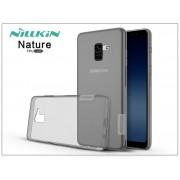 Samsung A730F Galaxy A8 Plus (2018) szilikon hátlap - Nillkin Nature - szürke