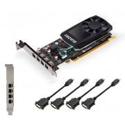 PNY nVidia Quadro P620 2GB DDR5 PCI Express 3.0 x16 Workstation GPU, DP