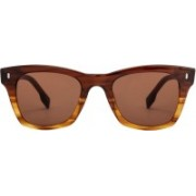 John Jacobs Wayfarer Sunglasses(Brown)