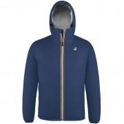K-Way Vestes Polaires hiver homme Capuche Regularfit Le Vrai Claude 3.0 Orsetto Bleu Jeans