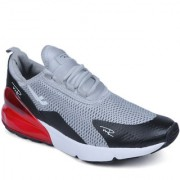MR.SHOES MR-1 GRAY-BLACK MAX 270 LIGHT BONE AND HOT PUNCH TRAINER SHOE