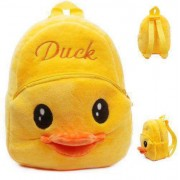 Cute Yellow Duck Baby Bag Stuffed Soft Plush Toy