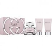 Gucci Bamboo lote de regalo VI. eau de parfum 50 ml + leche corporal 50 ml + gel de ducha 50 ml