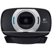 Logitech Webcam C615 (Full HD - 8 MP - Microfone Incorporado)