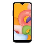 Total Wireless Samsung Galaxy A01 4G LTE teléfono Inteligente prepago, Negro 16 GB Tarjeta SIM incluida CDMA (TWSAS111DCP)