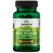 Swanson Probiotikum Dr. Stephen Langer's Ultimate 16 kmenů z FOS 60 kapslí