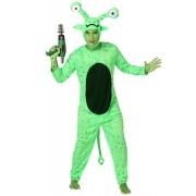 Disfarce alien verde homem - M / L