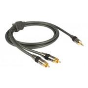 Cablu Jack 3.5mm - RCA Goldkabel Profi 2.5 metri