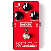 MXR M78 Custom Badass Distortion Pedal guitarra eléctrica