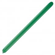 "Baloane Latex Modelaj Green, 6"" x 46"", Qualatex 646 13785, set 50 buc"