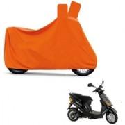 AutoAge Full Orange Two Wheeler Cover For Electric E- Sprint