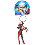 DC Comics Harley Quinn PVC Soft Touch Figural Key Ring Action Figure
