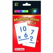 Carson Dellosa Cd 734008 Spectrum Flash Cards Multiplication