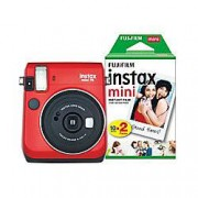 Fuji Instant Camera Instax Mini 70 Red 30 Shots