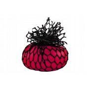 Minge antistres tip strugure Squeeze Ball, culoare Roz