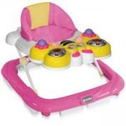 Бебешка проходилка Lorelli Пеперуда - Розова, 0746754