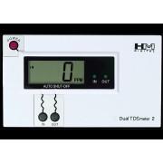 DM-2 monitor comercial dual TDS en línea