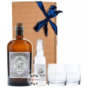 Black Forest Distillers Geschenk-Set Monkey 47 Gin, 1 x Gents Tonic, 2 x Tumbler (47 % Vol., 0,7 Liter)