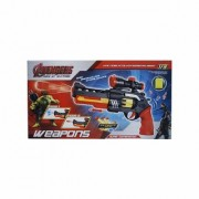 Shreebalaji Toys Avengers Children Toy Gun - Kids Shooting Gun with Soft Bullets - Toy Gun for Boys Girls - Kids Gun