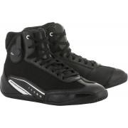 Alpinestars Stella AST-1 Señoras zapatos de la motocicleta Negro/Blanco 11 (43,5)