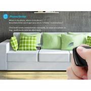 Onloon Mini Bluetooth Inteligente Llave Buscador Perdida Anti(Negro)