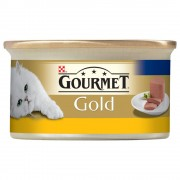 Hrana umeda pentru pisici Conserva Gourmet Gold Mousse Ficat, 85g