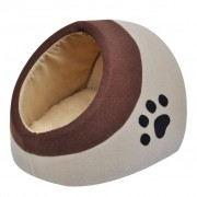 vidaXL Cubo para gato em lã de poliéster quente M