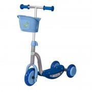 Free2Move romobil na 3 kotača sa svjetlima i košarom plavi