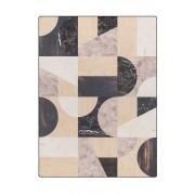 Tarkett Mixed Materials vloerkleed vinyl 166x226 zwart