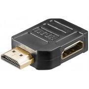 hbb HDMI adapter 90 grader vinkel höger Svart