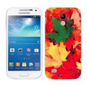 Husa Samsung Galaxy S4 Mini i9190 i9195 Silicon Gel Tpu Model Autumn Leaves