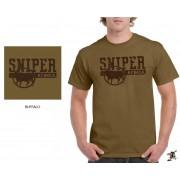 "Sniper Men ""Buffalo"" T-Shirt (Khaki)"