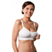 Carriwell Varrásnélküli betétes szoptatós melltartó XL - fehér