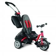 Gyermek háromkerekűjével PUKY CAT S6 CEET irányadó rudak piros 2403
