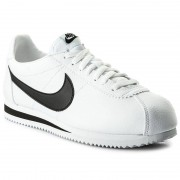 Nike Buty NIKE - Classic Cortez Leather 749571 100 White/Black