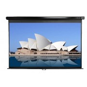 "SCREEN, Elite Screens M128NWX, Manual, 128"" (16:10), 275.3 x 172.2cm, White (M128NWX)"